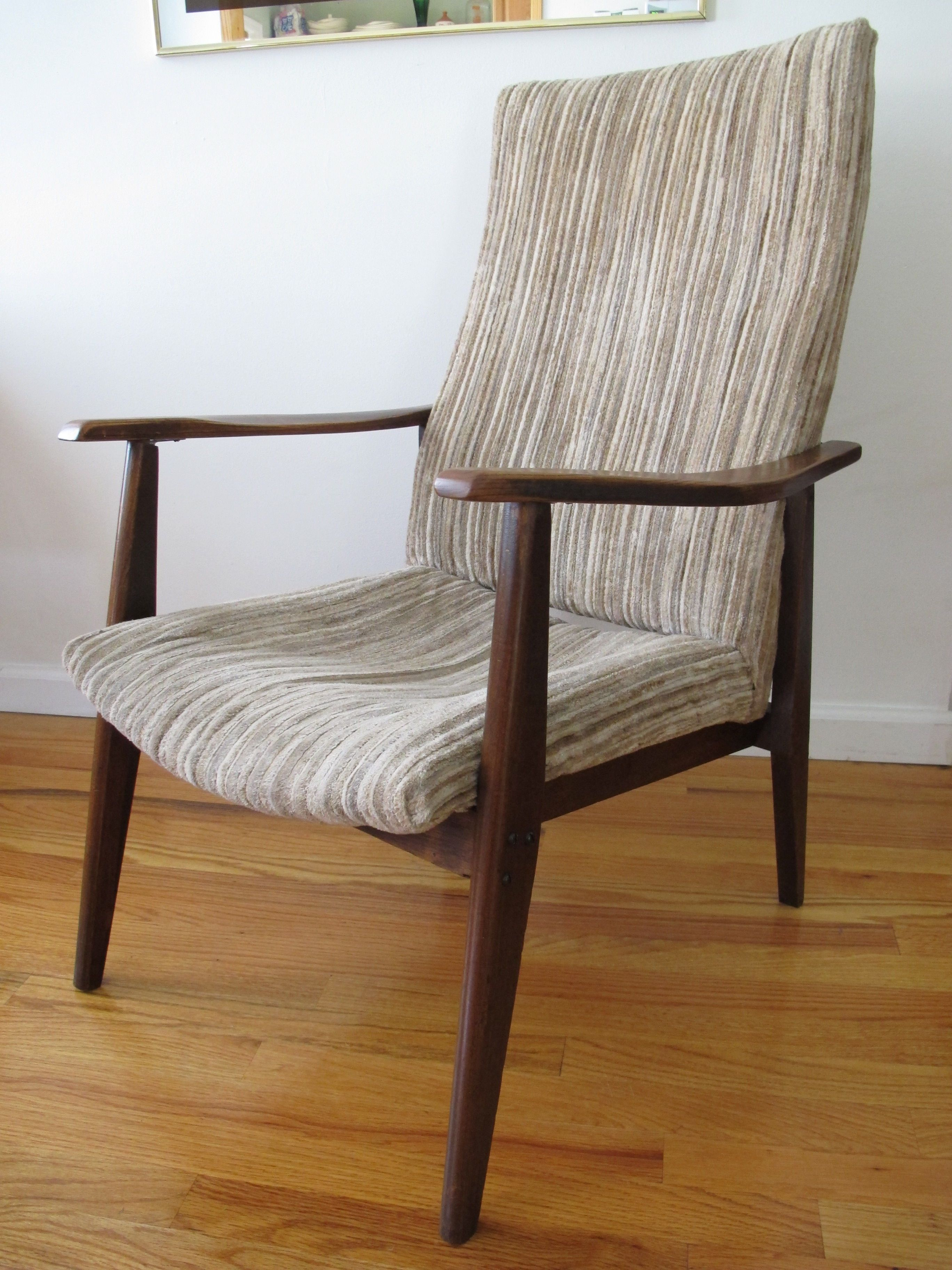 Swedish Modern Dux Style Lounge Chair