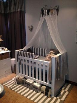 Modern Designed Grant Baby Cot Baby Nursery Furniture In