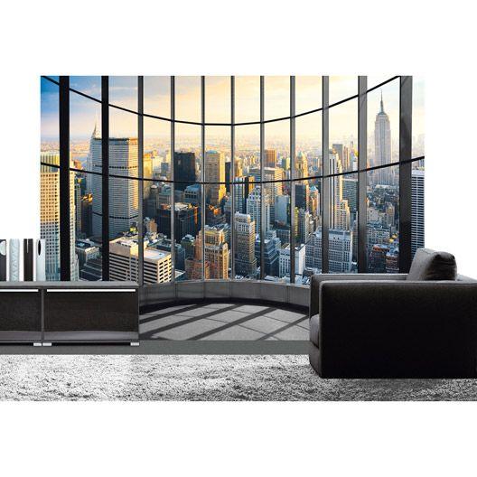 Poster Xxl De Mur Office View 366 X 254 Cm Deco Murale Decoration Tete De Lit Idee Couleur Salon