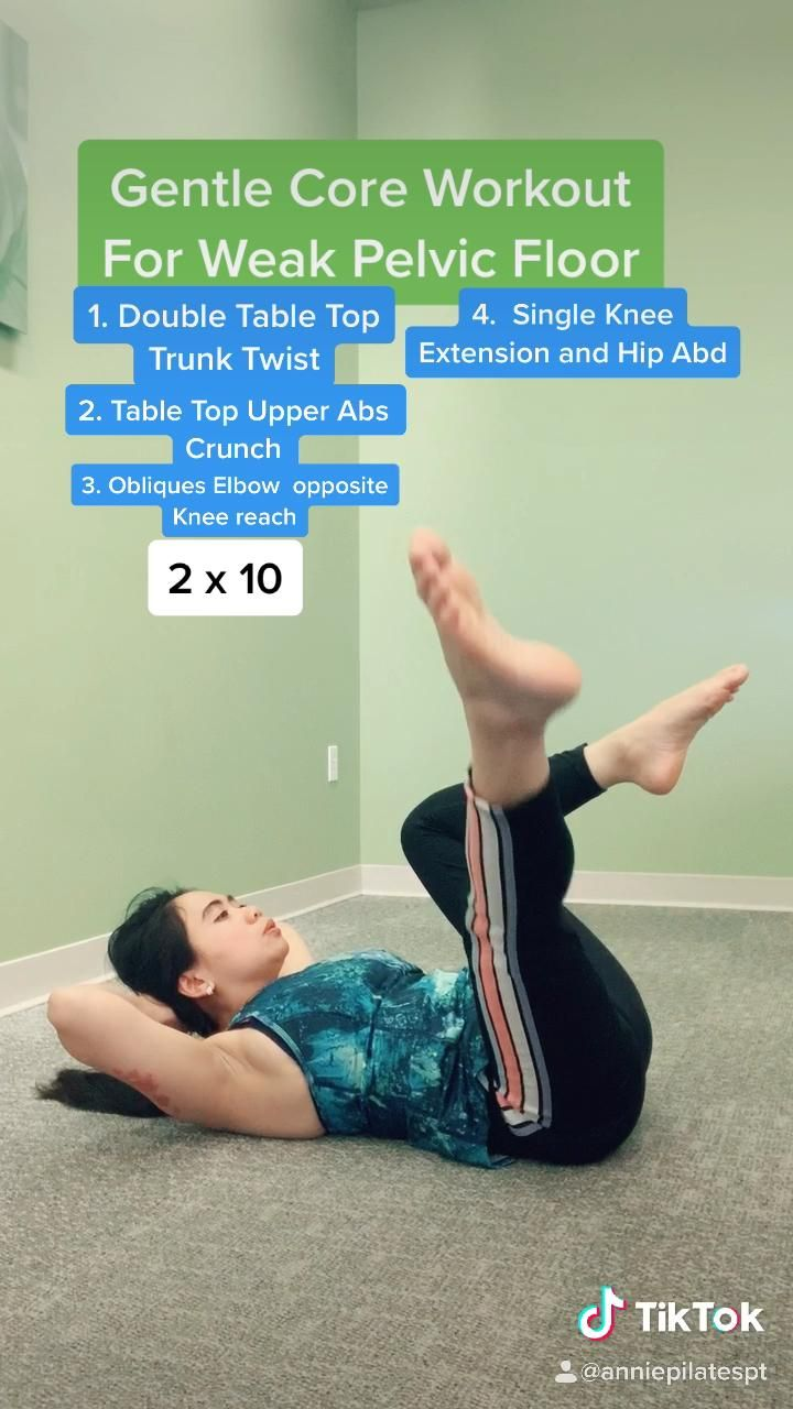 Gentle Pilates for  Pelvic Floor Weakness And Beginners
