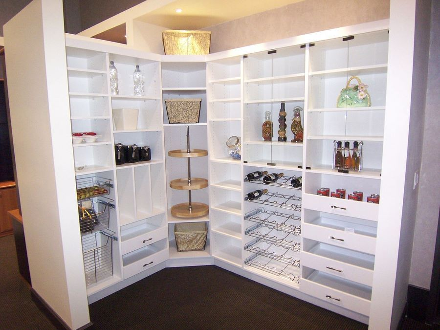 Attractive Kitchen Pantry Ideas | Custom Kitchen Cabinets Design, Kitchen Pantry  Designs Connecticut .