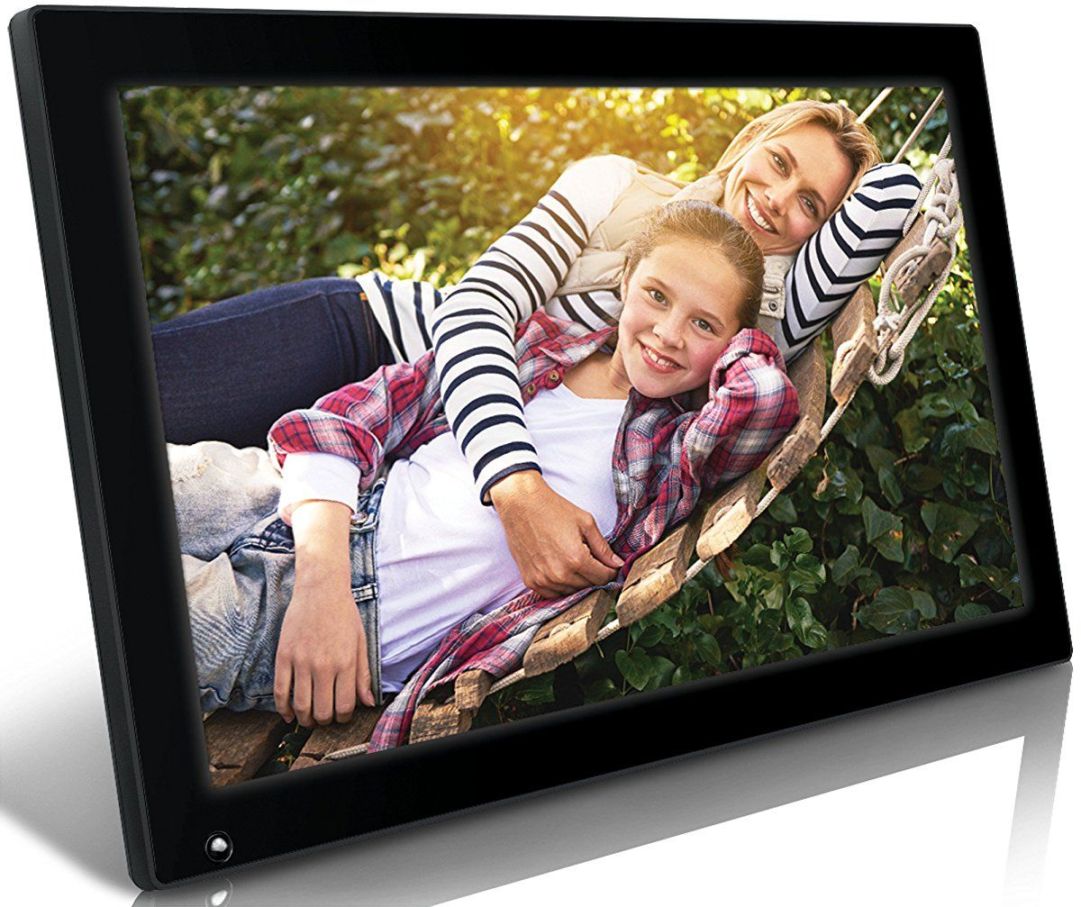 Nixplay Original 18.5 inch WiFi Cloud Digital Photo Frame. iPhone ...