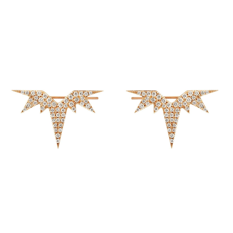 Punk Rocks. Jennifer Fisher earrings