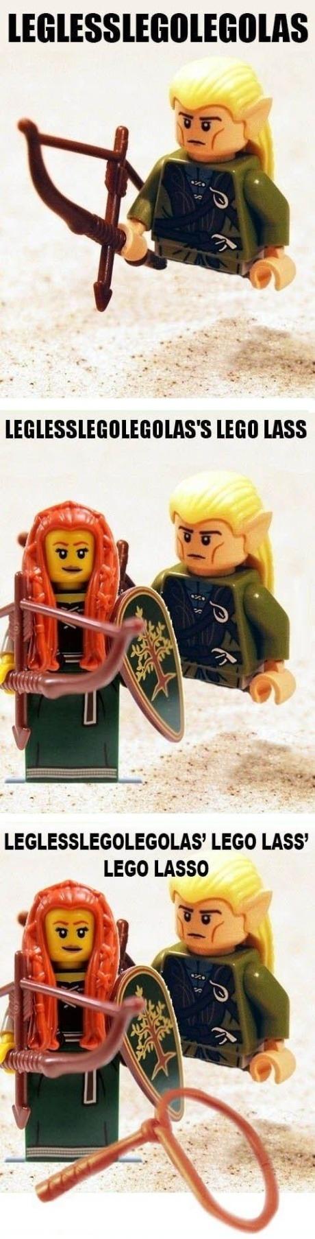 Legless Lego Legolas
