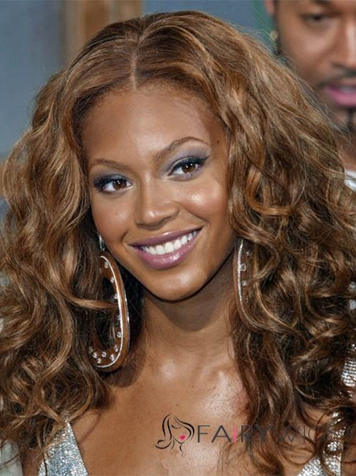 Long Curly Brown African American Lace Wigs For Women Fairywigs 83 99