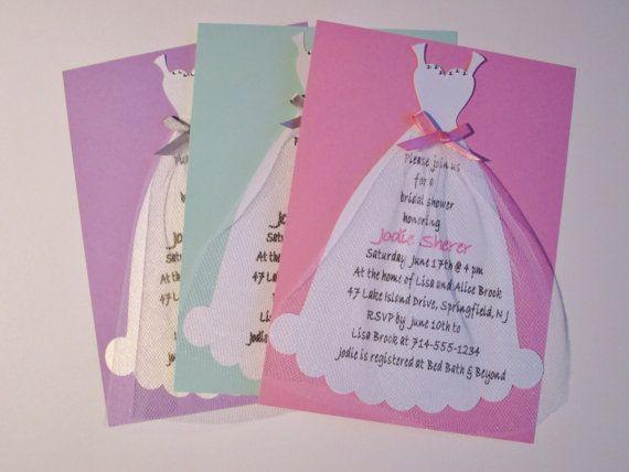 Bridal Shower Invitation Bachelorette Party Invitation Wedding