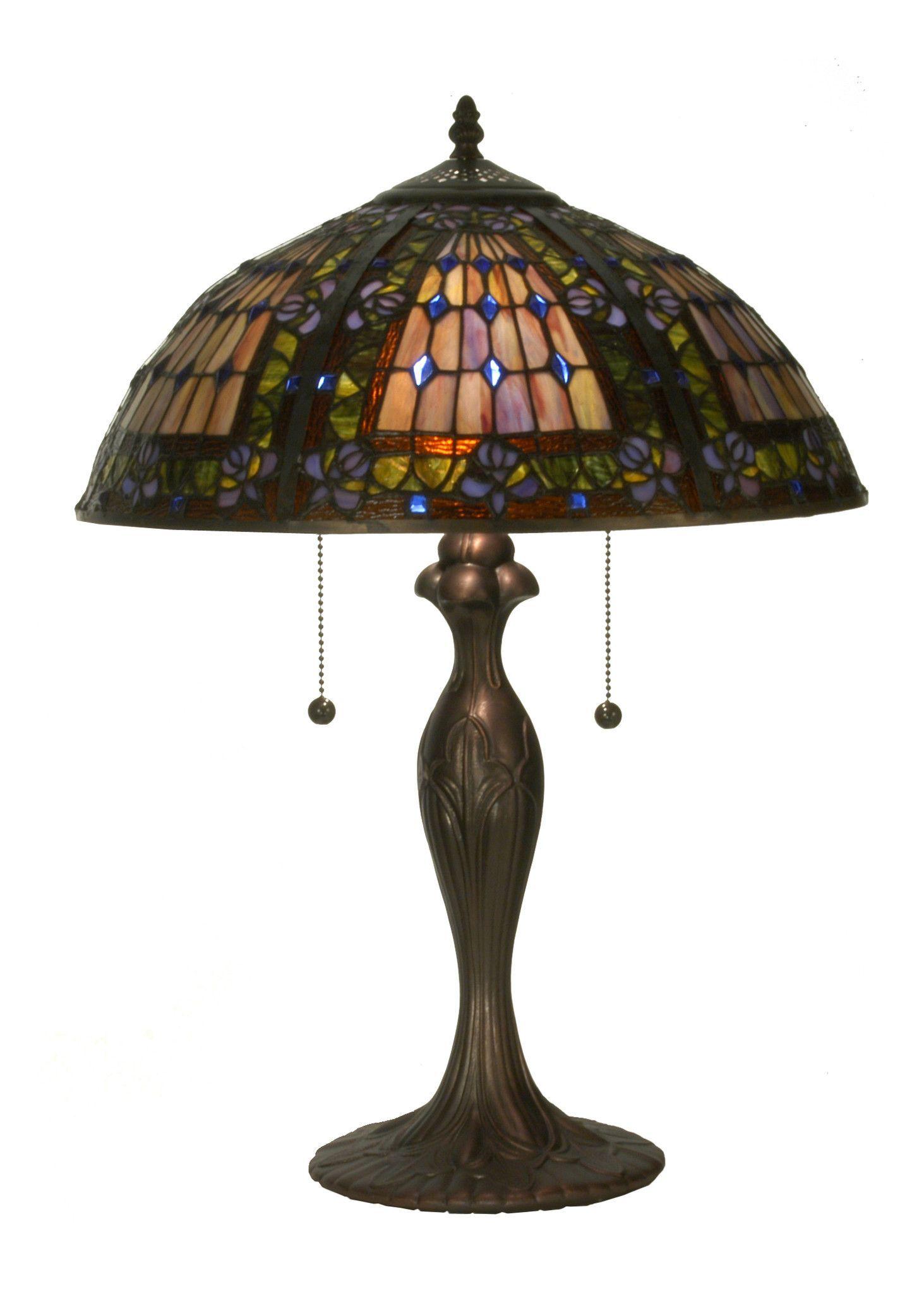 225h tiffany fleur de lis table lamp products 225h tiffany fleur de lis table lamp geotapseo Gallery