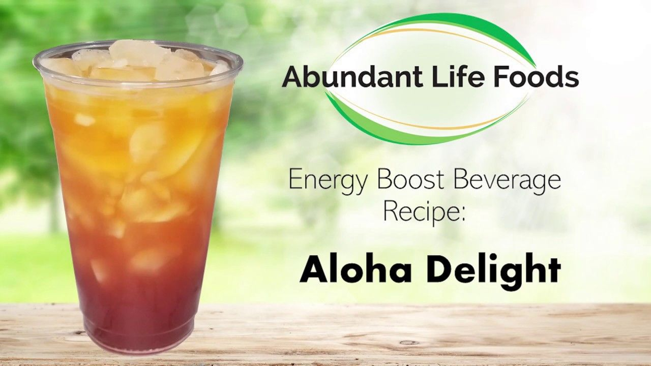 Aloha delight beverage youtube in 2020 energy boosting