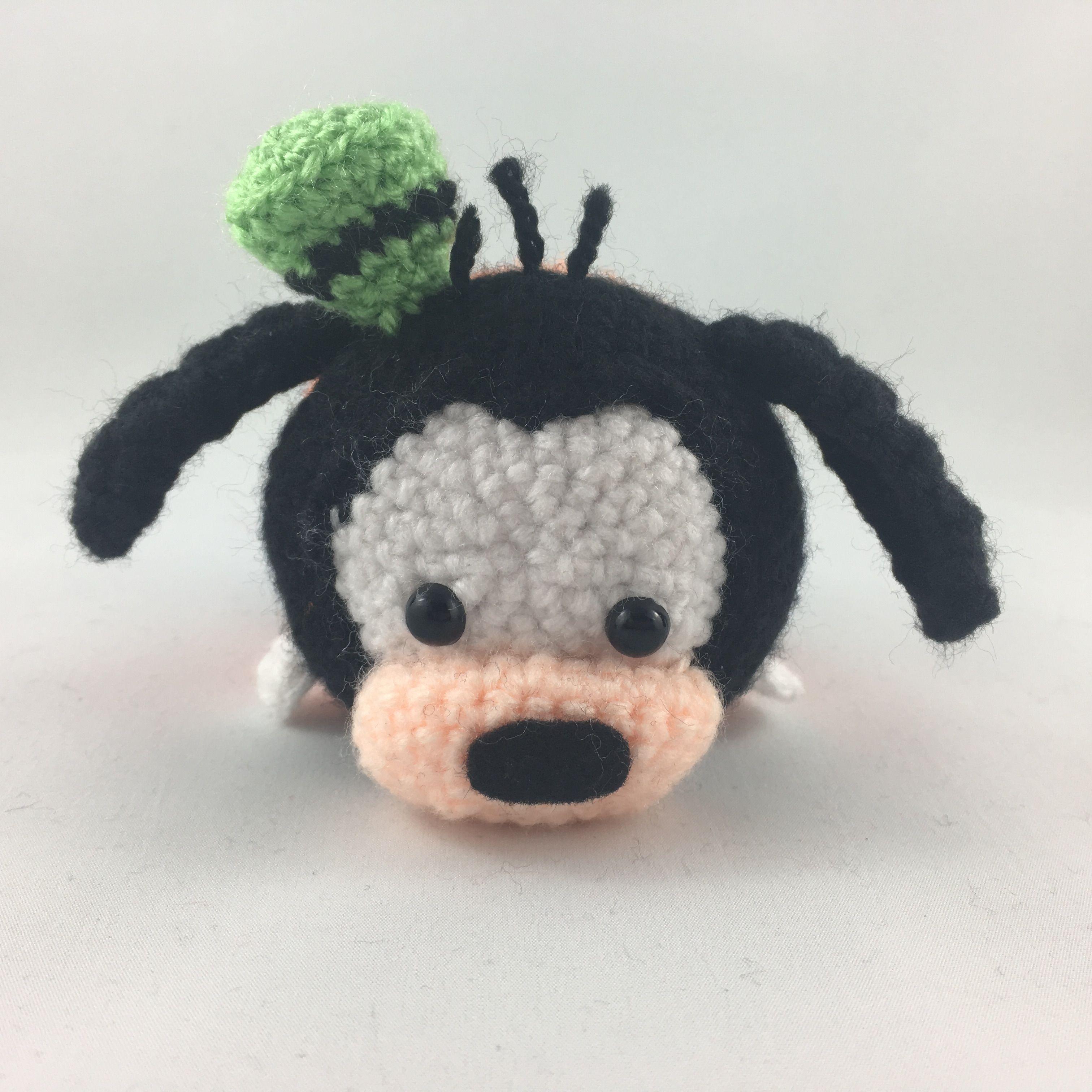 Goofy Tsum Tsum #crochet #goofy #amigurumi #disney #tsumtsum ...