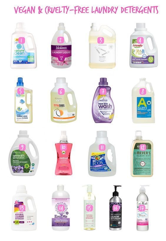 Ultimate Vegan Laundry Detergents And Products Guide Vegan