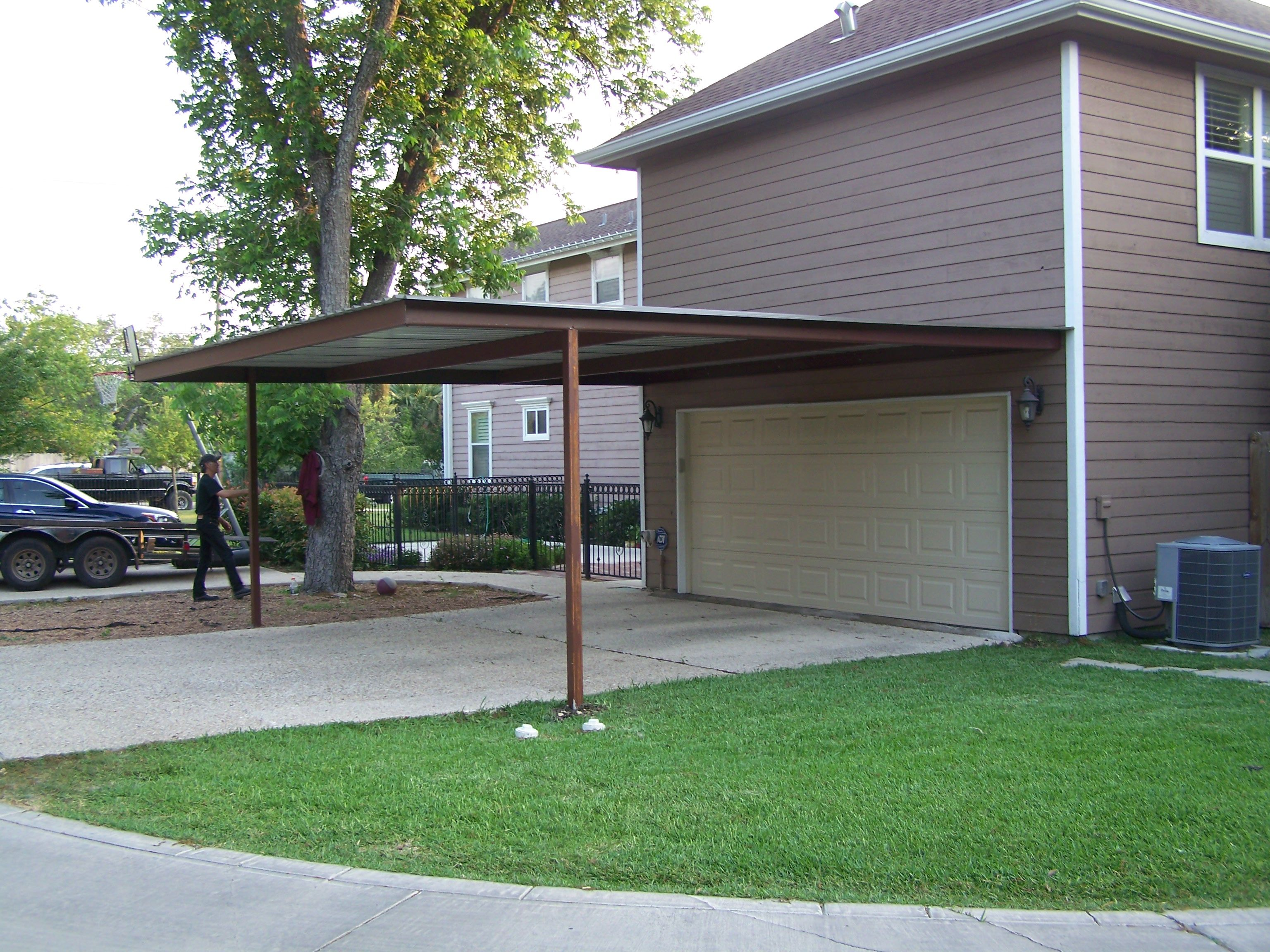 how san antonio lean north build house lovely carport attached west to of cover a patio