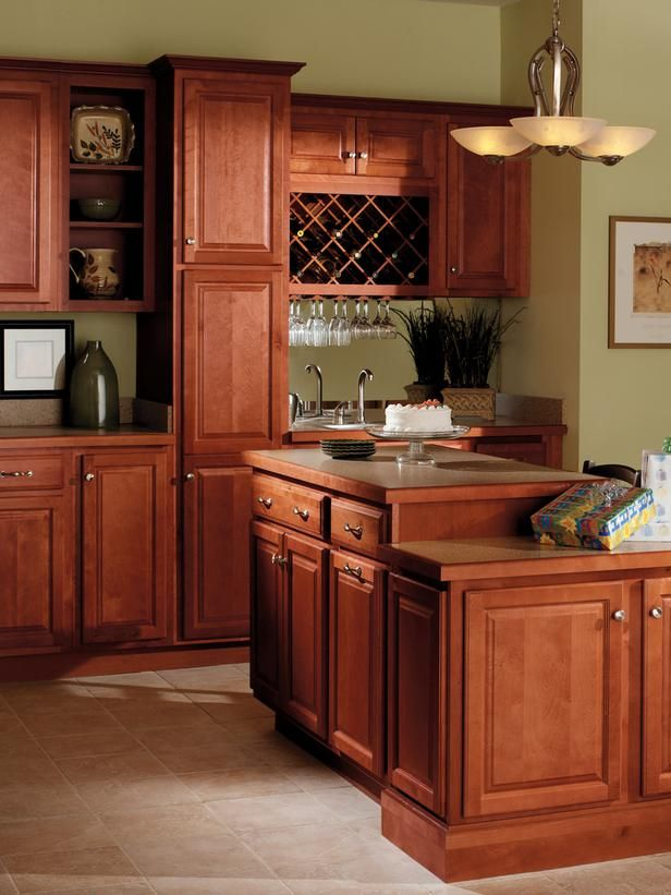 sports shoes 46a3f 4750f Quality Cabinets Harborview Birch Cinnamon | Kitchens ...