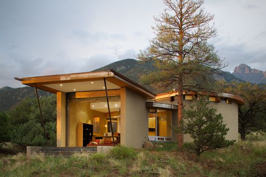 I Think I Just Found My Colorado Architecture Firm. Gettliffe.com Strawbale  House | Crestone, Colorado | Gettliffe Architecture