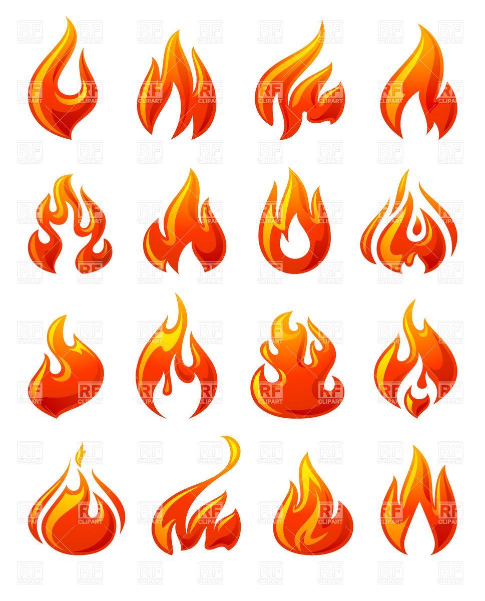 Best Photos of Flame Designs Clip Art Fire Cartoon Clip