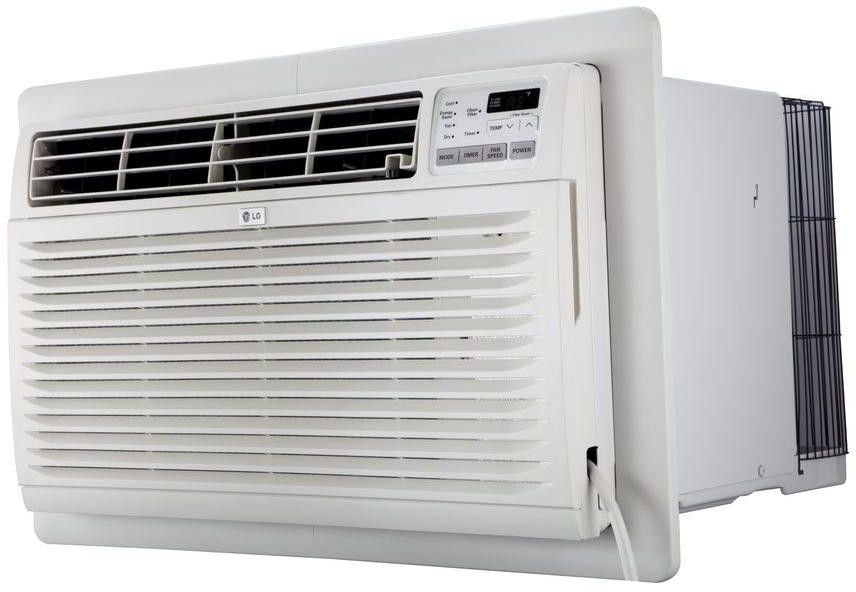 Lg 11 800 Btu Wall Air Conditioner Lt1216cer Commercial Air Conditioning Cool Walls