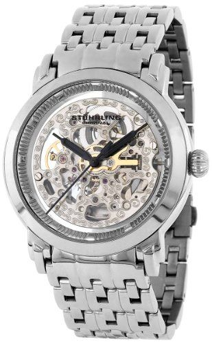 Amazon.com: Stuhrling Original Men's 165A.33112 Lifestyle 'Winchester Elite' Skeleton Automatic Watch: Stuhrling Original: Watches