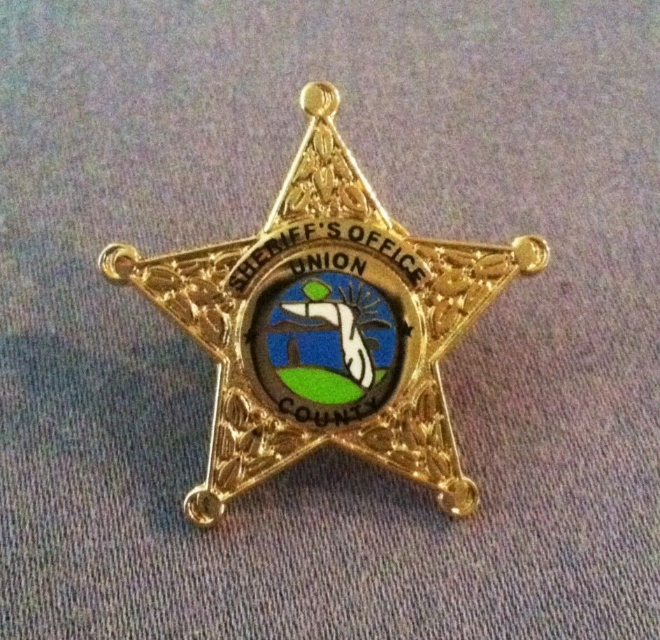 Obsolete Sheriff Badge Union County Florida Old Sheriffs Office Police Badge Usa Collectibles Historical Memorabilia Police Badge Sheriff Badge Union County