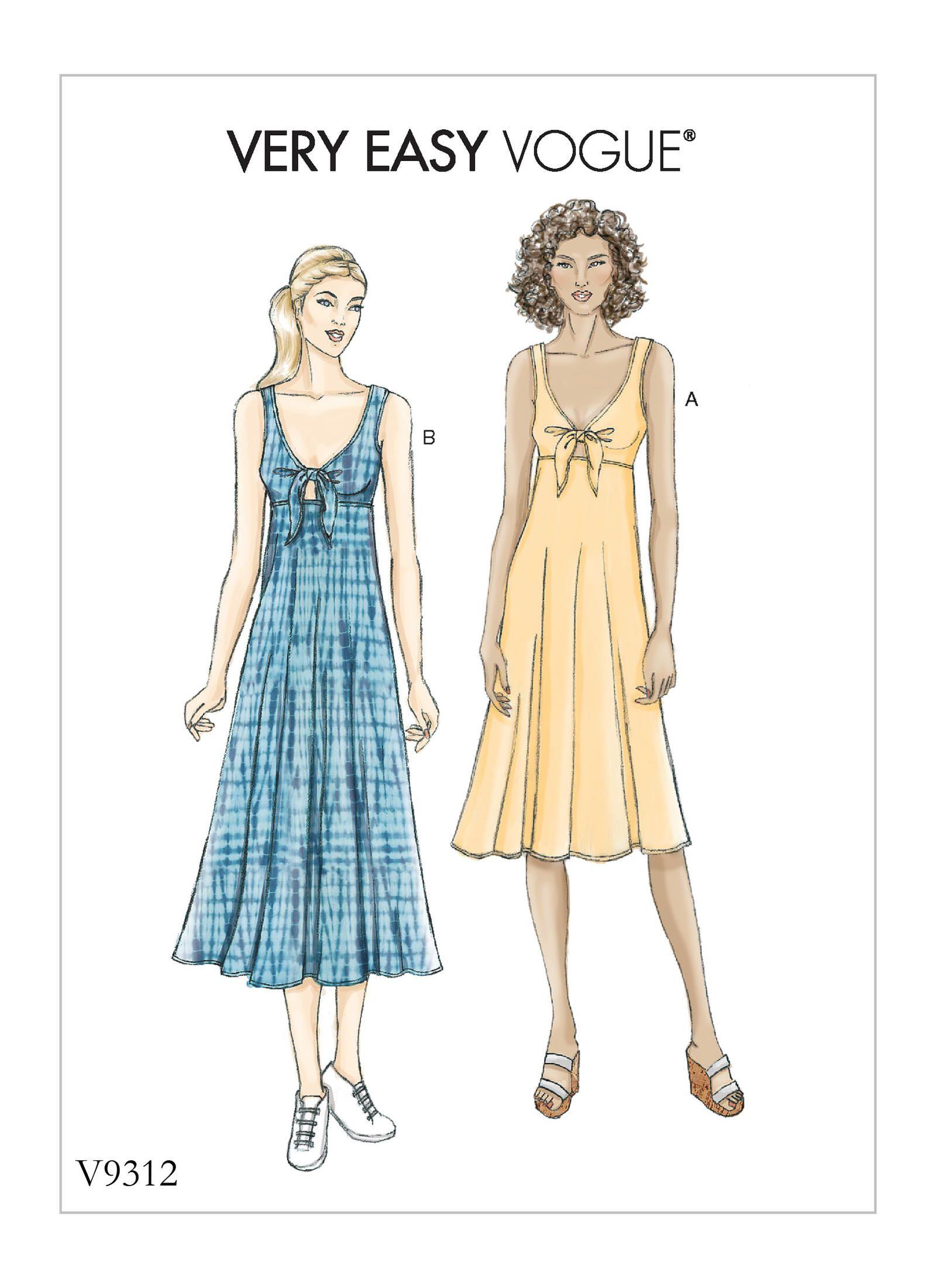 V9312   Vogue Patterns   Sewing Patterns   Vintage Sewing Patterns ...