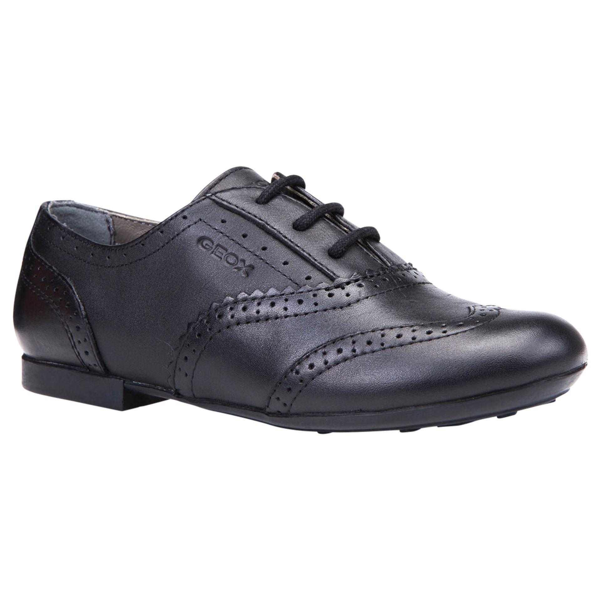 Geox Children's J Plie Brogue Shoes