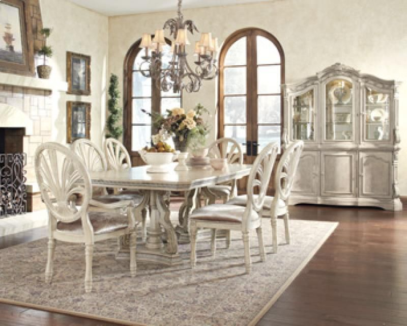 D70755B In By Ashley Furniture In Longview, TX   RECT DRM Pedestal Table  Base
