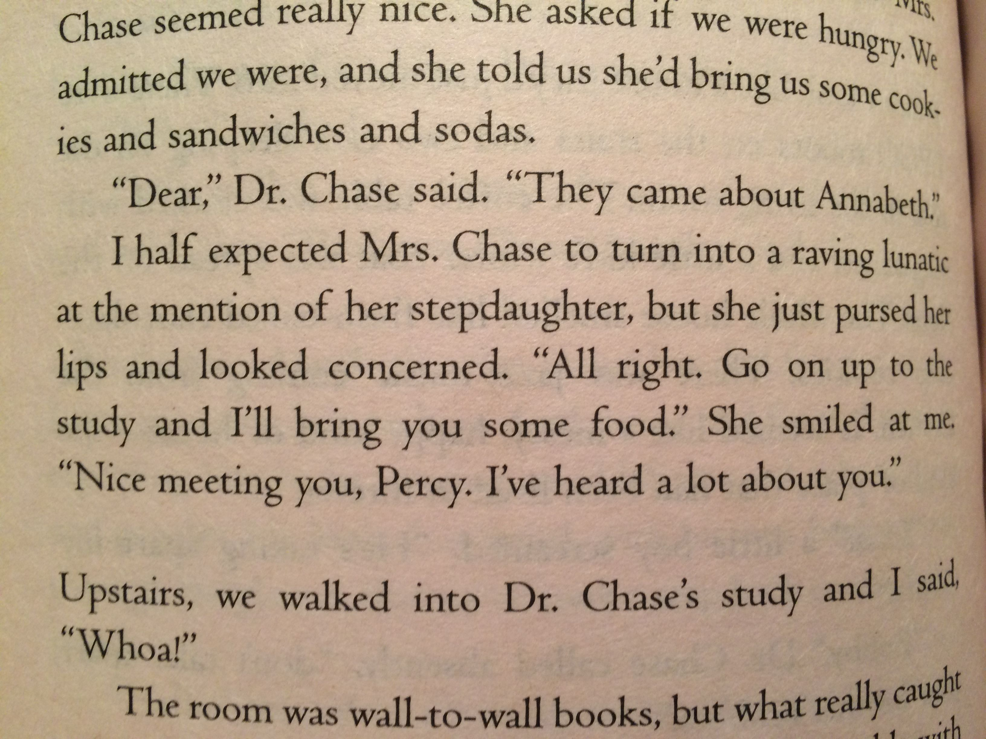 Did Anyone Else Die At This Percyjackson Annabethchase