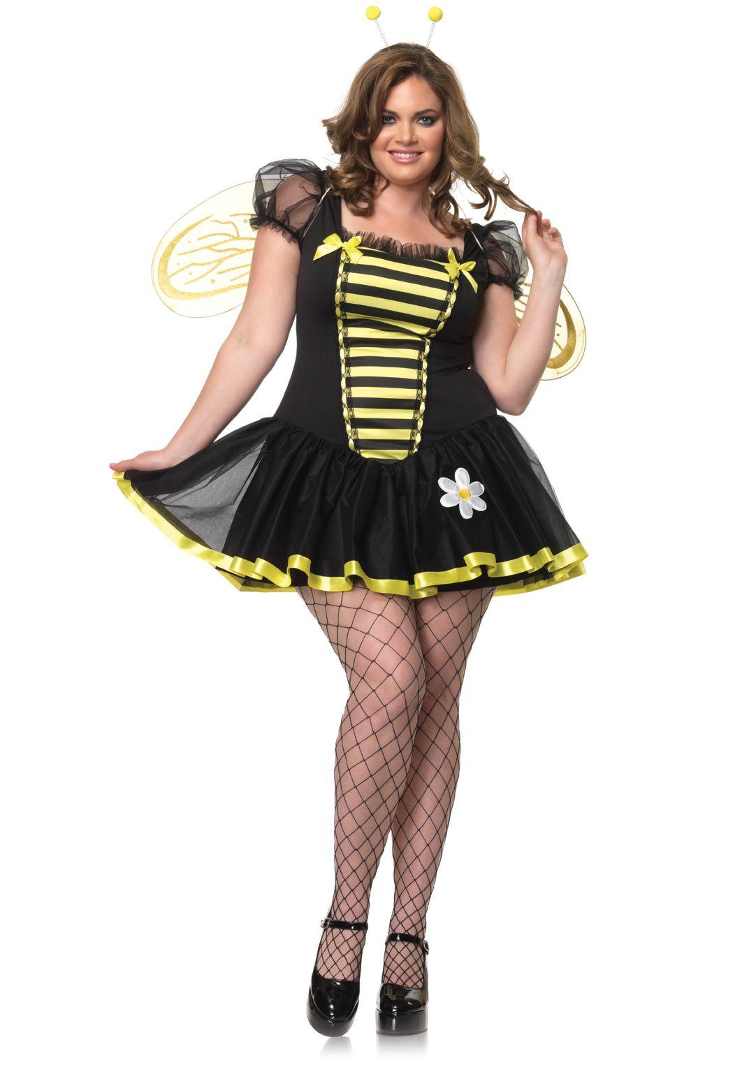 Plus Size Costume 4X 5X Plus Size 3 Pc Daisy Bee (3X4X