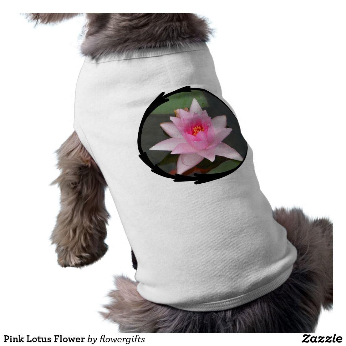 Pink lotus flower t shirt izmirmasajfo