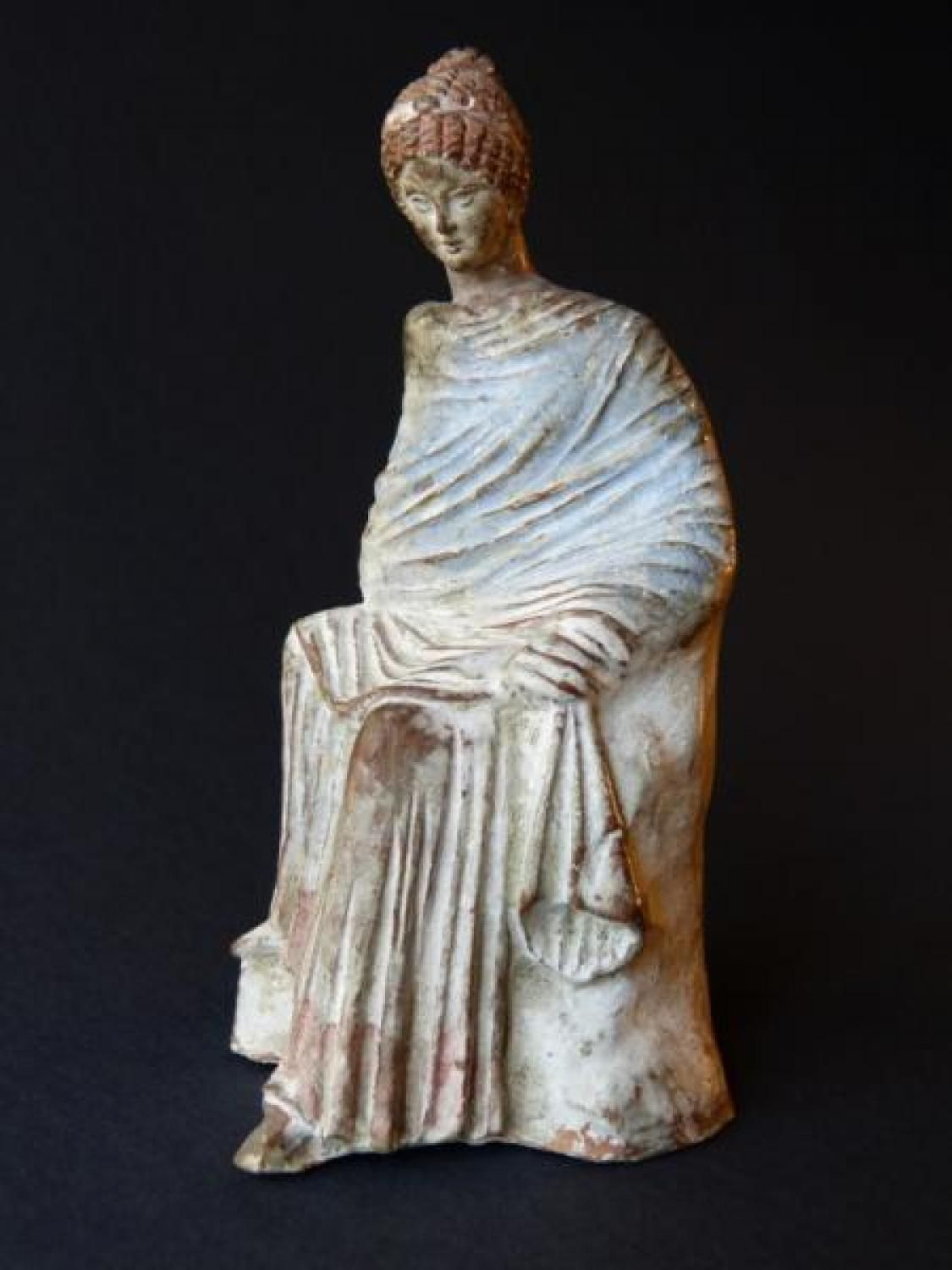 Ancient Greek Statues For Sale Antique For Sale Greek Female Statue Terracotta Tanagra