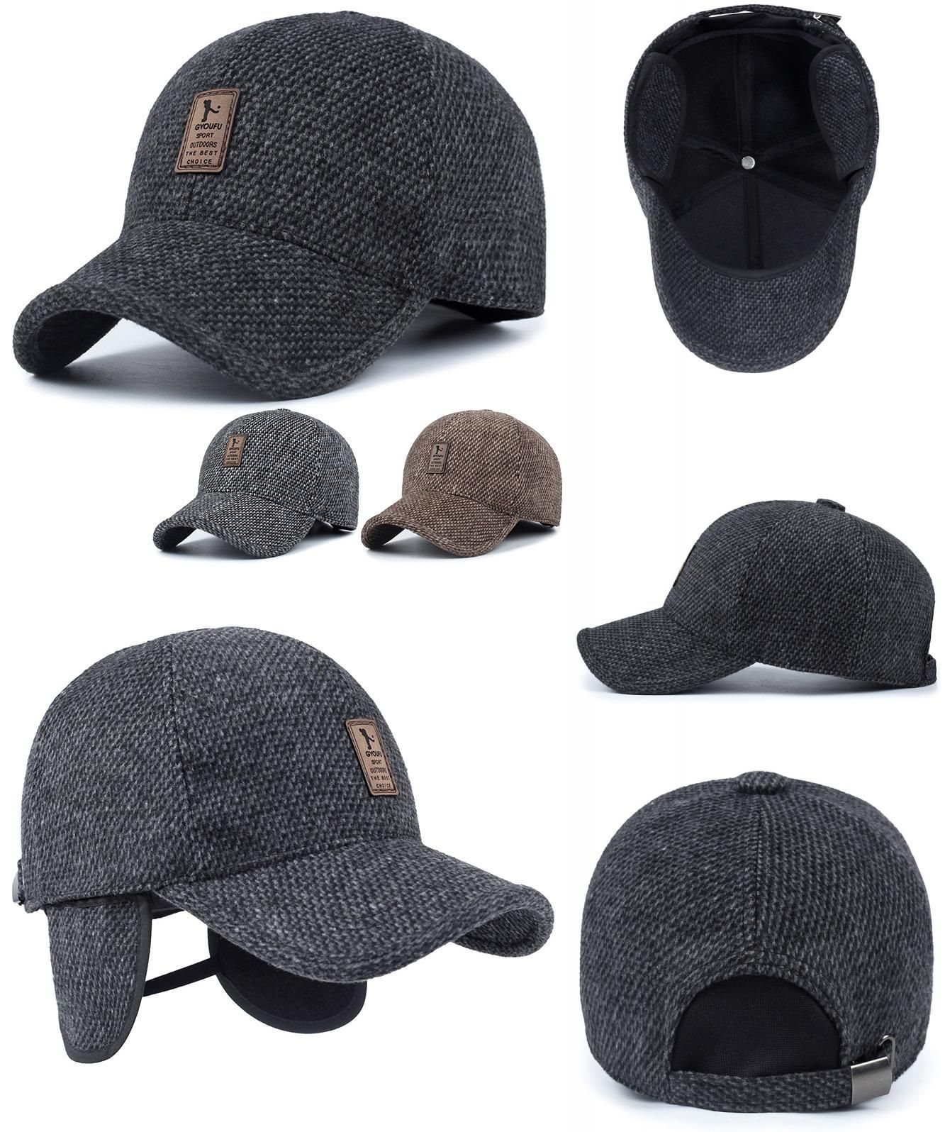 Visit to Buy  2016 brand baseball cap winter dad hat warm Thickened cotton  snapback 6cbf65a8942a