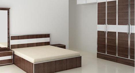 new concept 58e36 3f49c Picture of Yana Bed Wardrobe Set | BED WARDROBE SET | Buy ...