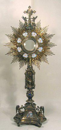 Ostensoirs Diocese De Paris Eucharistie Art Religieux