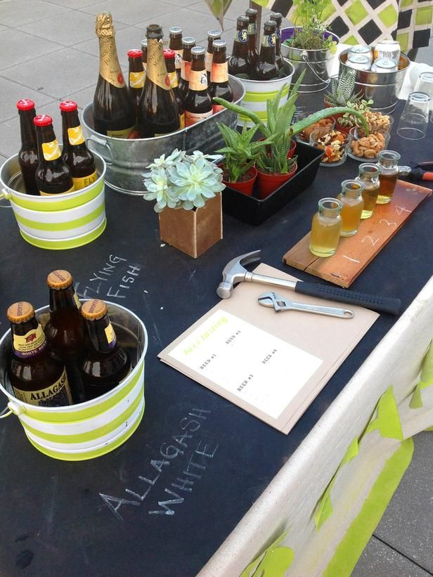 How to Host a Stock-the-Garage Wedding Shower | Beer tasting, Beer ...