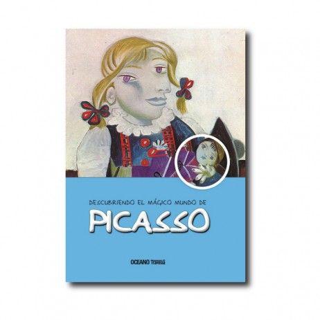 """""""Descubriendo el mágico mundo de Picasso"""" (María J. Jordá). Editorial: Océano Travesía. Edad recomendada: A partir de 9 años."""
