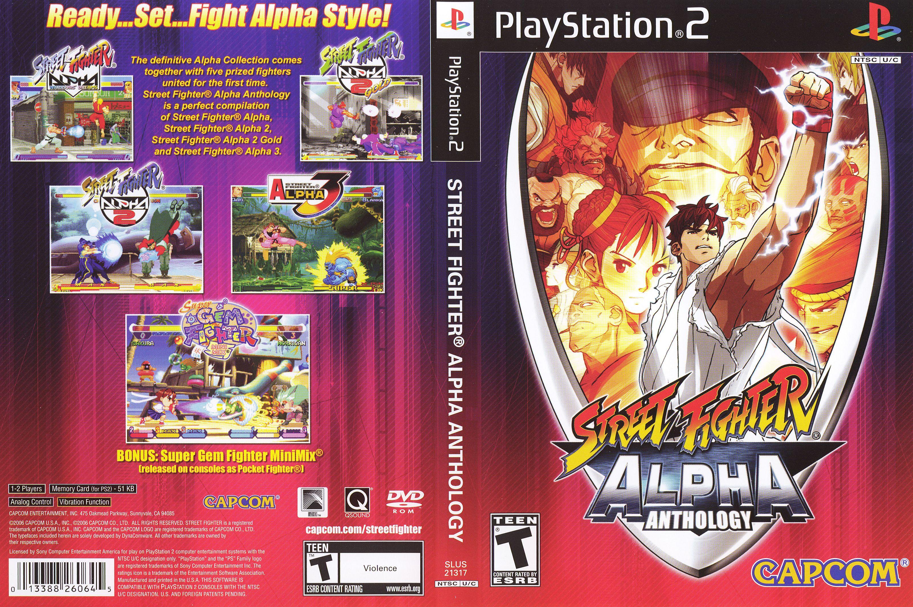 Street Fighter Alpha Trilogy Street Fighter Alpha Street