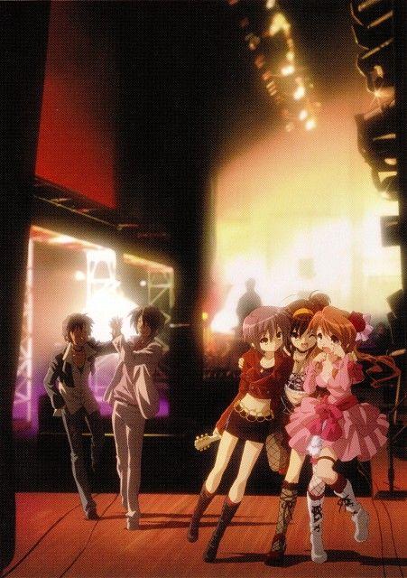 Kyoto Animation, The Melancholy of Suzumiya Haruhi, Yuki Nagato, Mikuru Asahina, Itsuki Koizumi #anime