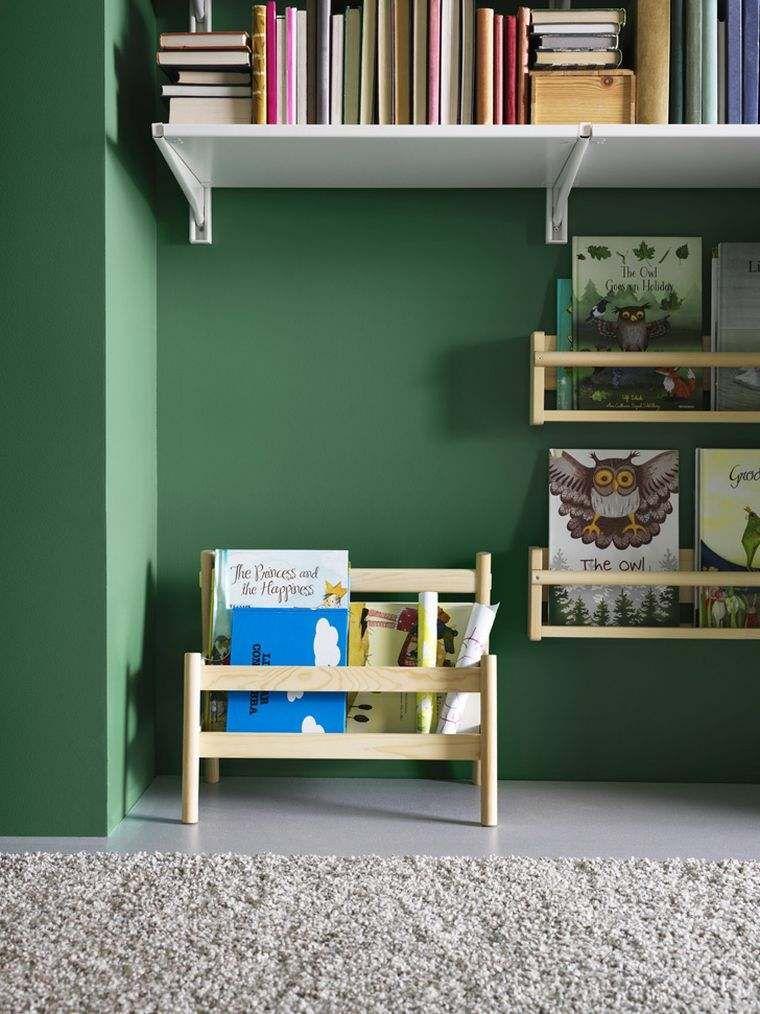 Idée rangement chambre enfant avec meubles Ikea | Kids rooms and Room