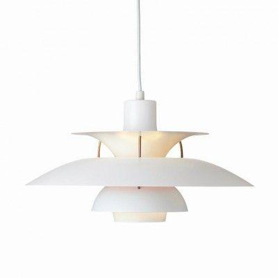 louis poulsen ph 5 pendelleuchte wei matt light and lamps pinterest pe. Black Bedroom Furniture Sets. Home Design Ideas