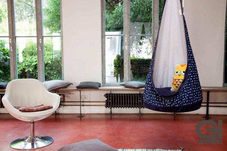 Hangesessel Relaxme Fur Kinder Blau In 2020 Sessel Neue