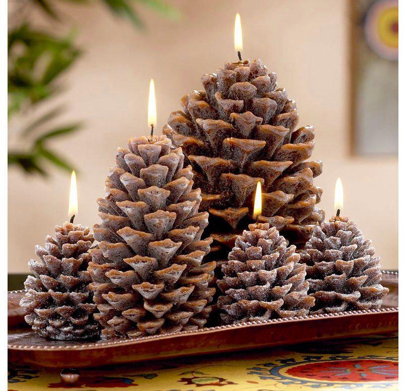 Новогодние поделки из еловых шишек своими руками: 25 ...
