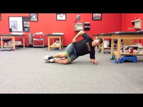 Functionally Fit: Side lying bridge clam   Magazine Archives   Fit Pro