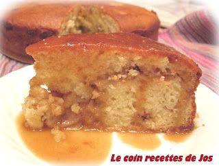 Le coin recettes de Jos: GÂTEAU AUX POMMES, SAUCE AU CARAMEL