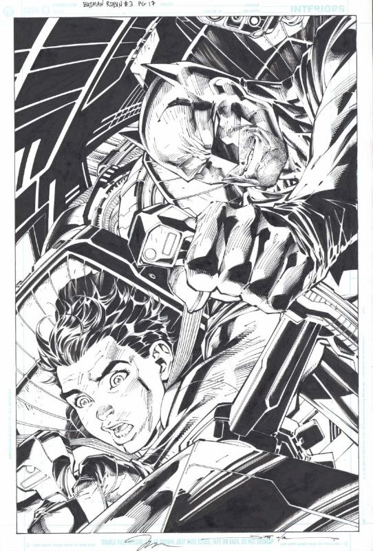 All Star Batman and Robin #3 p.17 by Jim Lee