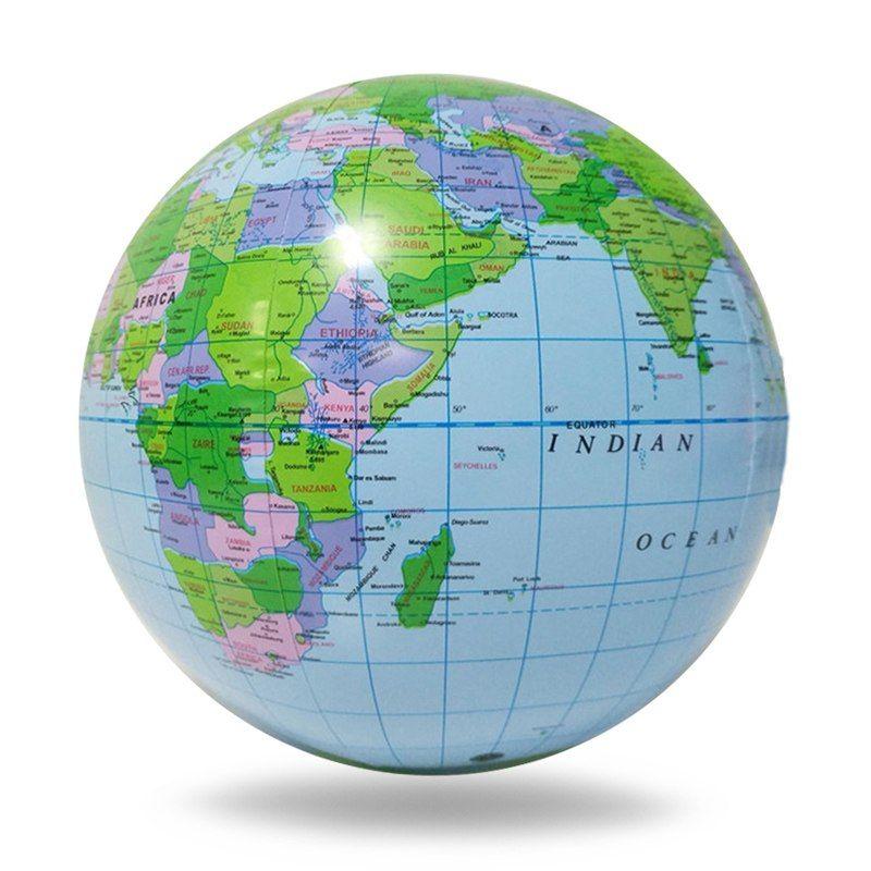 Globus Karte.Günstige 40 Cm Aufblasbare Stress Ball Spielzeug Für Kinder Pvc