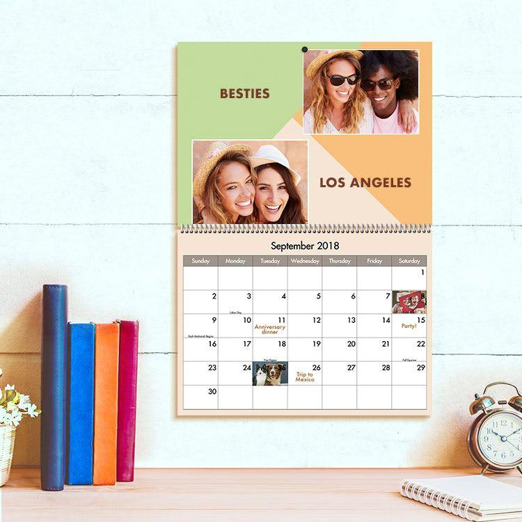 11 5 X 14 Premium Calendars Sample Photo 1 Of 4 Personalised