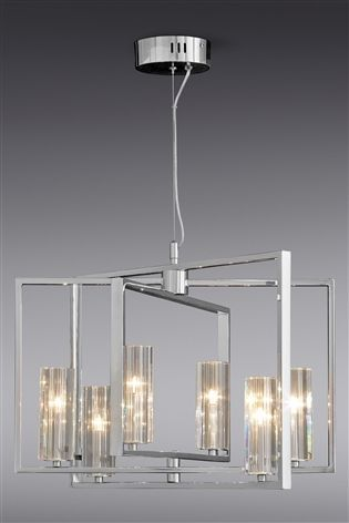 Buy tate 6 light chandelier from the next uk online shop living buy tate 6 light chandelier from the next uk online shop aloadofball Gallery