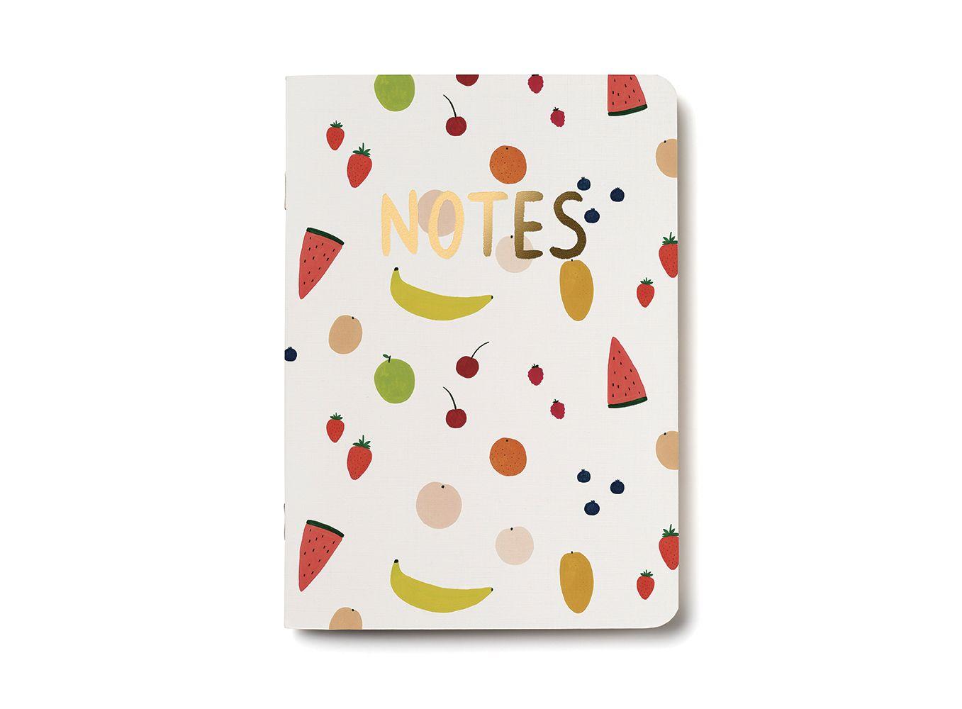Fruits notebook notebook cards kate pugsley
