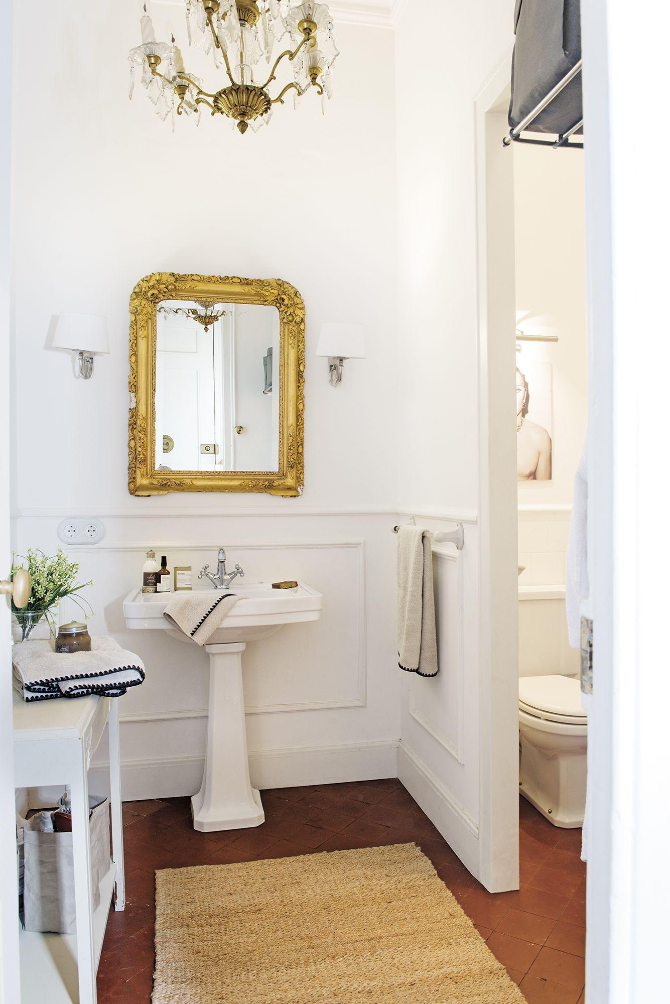 Decorar un ba o peque o con personalidad bathrooms - Decorar un bano pequeno ...