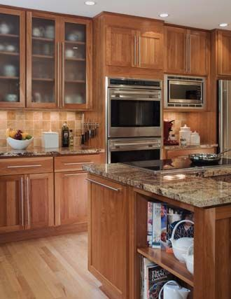Maple Natural, Quincy-3 Kitchen ideas Pinterest