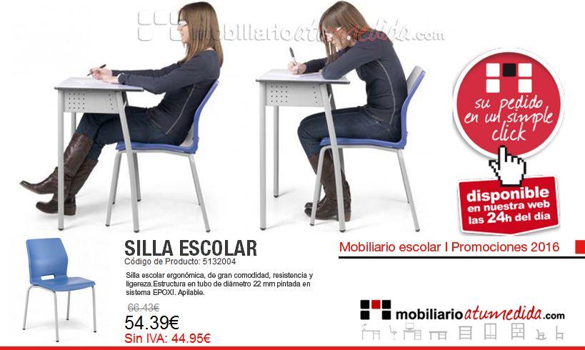 Uno de nuestros modelos de silla de postura ergon mica for Silla escolar ergonomica