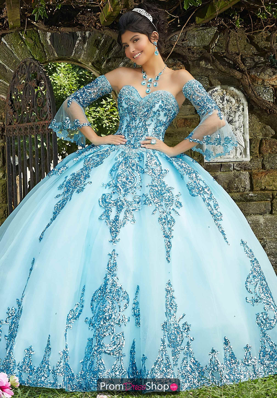 Vizcaya Dress 89255 Promdressshop Com Quinceanera Dresses Blue Quinceanera Dresses Gold Pretty Quinceanera Dresses [ 2903 x 2019 Pixel ]